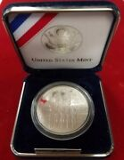 Mc0102wsicipa Us Mint Dollar 2002 West Point 900 Silver Cameo Impaired Pgp