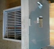 Chromalox 20 Kw Dh Duct Heater 480 Volt 3 Ph. With Controls New Old Stock