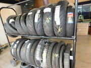 25 Brand New Motorcycle Tires 8 Rear 17 Fronts Plus The 2 Level Portable Rack