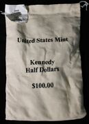 2009 P And D 100 Face Value Mint Sewn Bag Kennedy Halves