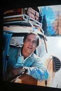 Chevy Chase Signed 11x14 Photo Dc/coa National Lampoon's Vacation Clark Griswold