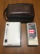 Nuclear Associates 07-417 Dual Color Sensitometer 07-443 Densitometer X-ray Ndt