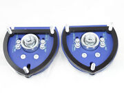 Camber Plates Domlager For Vw Golf 7 Audi A3 Seat Leon - Adjustable - Blue