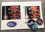 Lot Of 6 Nasa Space Shuttle Mission Sts-95 Discovery Iron On Patch, Photos, Pin