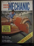 Home Auto Mechanic Magazine September 1955 Safety Check Your Car Save Gas Yy