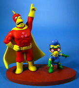 Mcfarlane The Simpsons Series 2 Radioactive Man And Fallout Boy Figure New