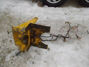 International Cub 154 Lo Low Boy Tractor Ih Gas Tank Mount And Seat Bracket And Wire