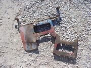 Ford 960 Tractor Gas Tank Front And Rear Set Mounting Mount Brace Bracket Brackets
