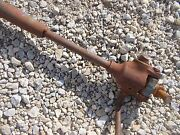 Ford 960 Tractor Originl Main 3pt Hitch Leveling Lift Arm W/ Crank Handle