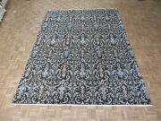 8and03910 X 11and03910 Hand Knotted Brown Ikat Peshawar Oriental Rug G5218
