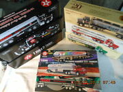 1 Lot Of 9 Rare Texaco Toy Tankers And Credit Card Edition Coin Banks