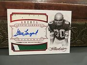 Panini Flawless Ruby Autograph Jersey Seahawks Auto Steve Largent 05/15 2014