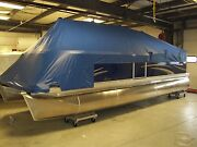 Boat Cover For 18and039 Pontoon Boat -manitou - 1996- 2012