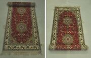3 X 12 New Perfect Gift Traditional Talent Hand-knotted Red Runner Rug