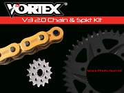 Kawasaki Zx636b Zx-6r 03-04 Vortex 520 Chain And Sprocket Kit 14-42 Tooth Ckg6299