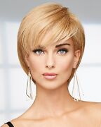 Success Story Wig By Raquel Welch Human Hair Any Color Lace Front Mono Top New