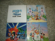 Disney Collector Plates 4 Total - 60th Birthday, 20 Magical Years - W/boxes
