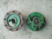 Oliver 77 Rc Tractor Rear 9 Bolt Press Steel 3 'u' Mount Bolts Axle Hubs And Studs