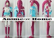 High Quality The Legend Of Zelda Breath Of The Wild Mipha Cosplay Costume