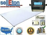 Floor Scales Industrial Led Or Lcd Display 60andrdquo X 96andrdquo 5andrsquo X 8and039 20000 Lbs X 5 Lb