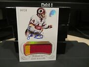 Panini Flawless Gold On Card Autograph Jersey Redskins John Riggins 04/10 2015