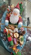 Noahand039s Ark Christmas Santa By Lenox Used Sold With Out A Box
