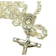 Catholic Rosary Lourdes Water Relic Medal - Blessed By Pope Francis