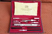Technical Drafting Drawing Set Richter And Co P Va Compass Cased Set Ddr Germany