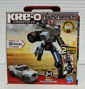 Transformers Kre-o Prowl Large G1 Inspired Mint 30690 Swat Hasbro