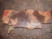 Farmall 504 Utility Ih Tractor Right Platform Step And Mounting Bracket