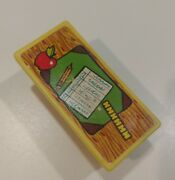 Vintage Fisher Price Little People Play Family Yellow Teacher Desk