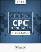 Official Cpc Certification 2019 - Study Guide