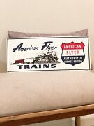 Nwt American Flyer Authorized Service Station Trains Lic By Lionel Porcelain