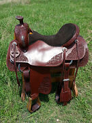 17 Spur Saddlery Ranch Roping Saddle Made In Texas