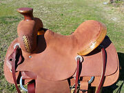 15.5 Spur Saddlery Ranch Roping Saddle - Made In Texas