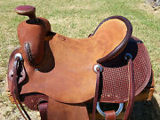 16 Spur Saddlery Ranch Roping Saddle Made In Texas