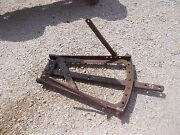 Coop Co Op E3 Tractor Complete Drawbar Draw Bar Hitch Assembly And Mounting Braces