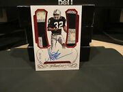 Panini Flawless Ruby On Card Autograph Jersey Raiders Marcus Allen 04/15 2015