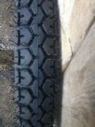 Tire 4,00x19 Ural Dnepr. Tyre With Inner Tube. Made In Russia