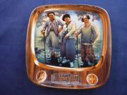 Three Stooges Porcelain Collectible Plate Par For The Worse
