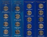 2007 2008 2009 And 2010 Presidential And Native American Dollar Uncirculated Set
