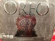 Game Of Thrones Oreo Cookies Limited Edition 15.25oz Going Fast