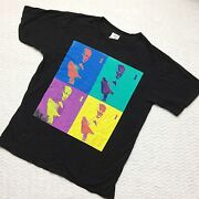 Elvis Costello 1996 All This Useless Beauty Tour Concert Tee Authentic Vintage L