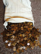 50 Rolls 2500 Coins Mixed 40's And 50's All S Mint Mark Lincoln Wheat Pennies