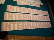 You Get 4 - 40 International Harvester Decal Sticker Diesel Truck Any Color