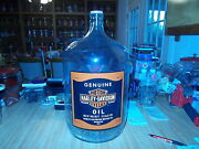 20 Vintage 5 Gallon Harley Davidson Oil Can Style Jug With N.o.s. Sticker