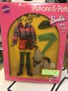 1972 Vintage Not Used Barbie Doll Outfit Hot Togs Put-on-pets 1063