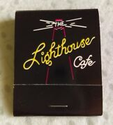 The Lighthouse Cafe Hermosa Beach California Vintage Discontinued Match Books 9
