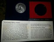 Medals Washington Before Boston Us Mint Americas First Pewter