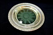Vintage Sterling Silver And Etched Crystal Candy Dish Frank M.whiting 1940